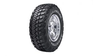 Goodyear Wrangler MT/R with Kevlar - best tires for Toyota 4Runner
